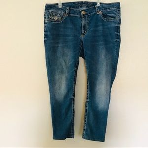 7 For All Mankind Luxe Bootcut Jeans Plus Sz 22